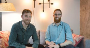 Dave (left) and Nate (right) Evans, cofounders of Fictiv, believe anyone with an internet connection should have access to production-grade manufacturing machines (image courtesy of Fictiv).
