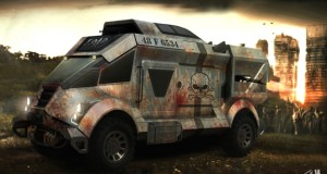 Ride in the Rumble Truck by Alp Germaner to repel the zombie hoard. (Image courtesy of Alp Germaner)