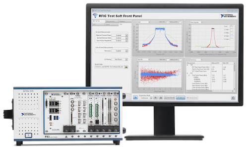 Organizations are transitioning from rack-and-stack box instruments and closed-architecture automated test equipment (ATE) systems to smarter test systems. Image Courtesy of National Instruments