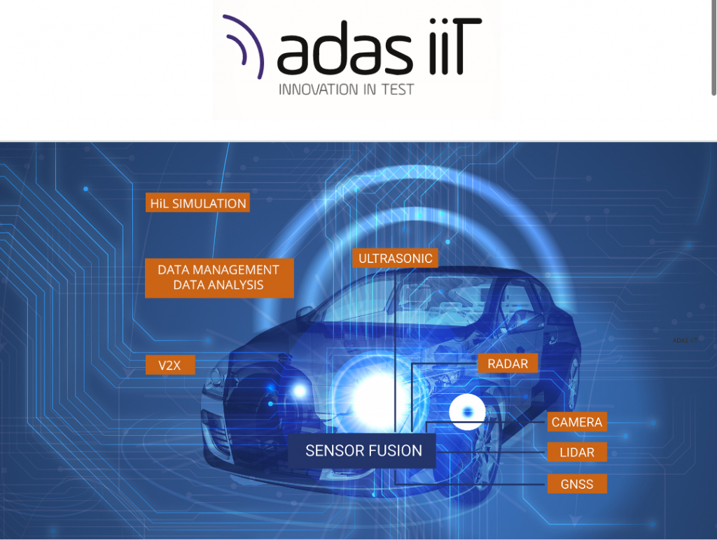 Advanced Driver Systems (ADAS) Innovation in Test.