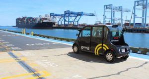 Optimus Ride is building self-driving car technology for geo-fenced environments. Image Courtesy of Optimus Ride