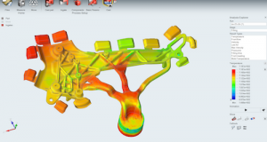 The Inspire generative design and topology optimization tool is now available through the unique solidThinking Units (sTUs) license model. Image Courtesy of Altair