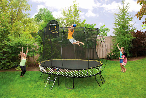 Abaqus from Dassault Systemes Simulia was used to design this trampoline.