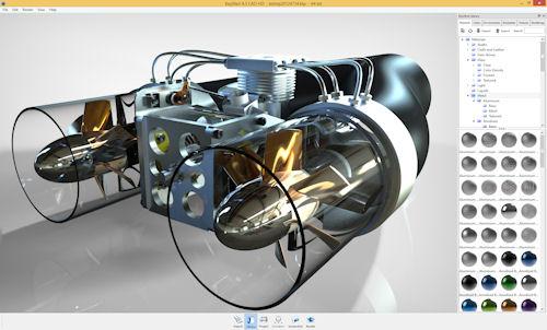 IronCAD Keyshot rendering