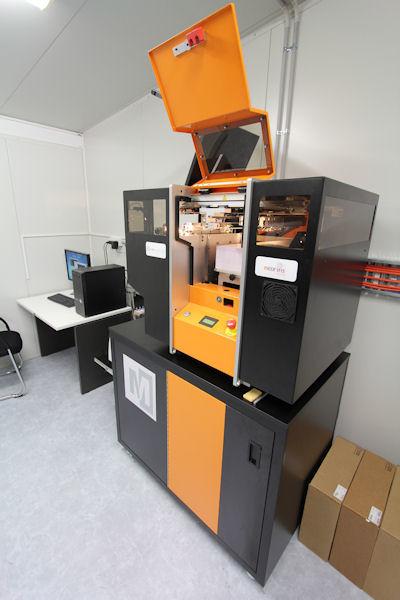 The Mcor IRIS 3D printer at Williams 3D.