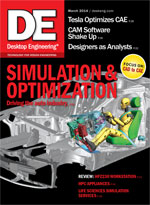 Desktop Engineering, March 2014 Digital Edition
