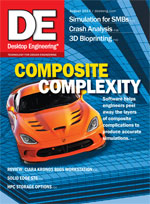Desktop Engineering, August 2013 Digital Edition