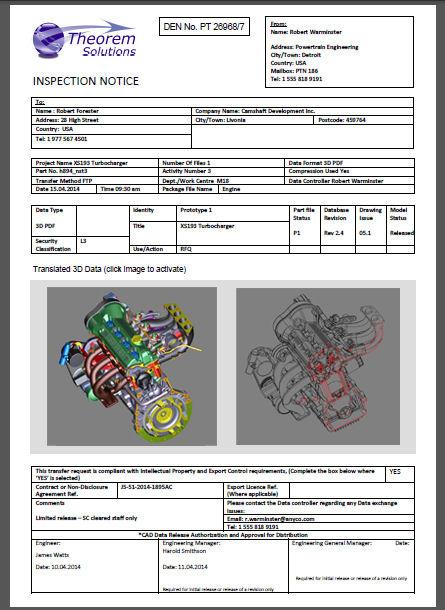 Publish 3D notice