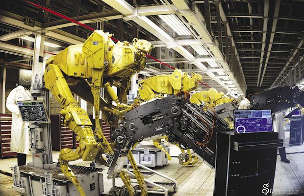 Scout Robots Factory