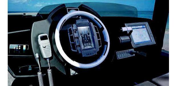 Yacht Instrument Panel