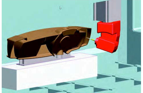 3D Machining Process