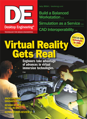 Desktop Engineering, July 2014 Digital Edition