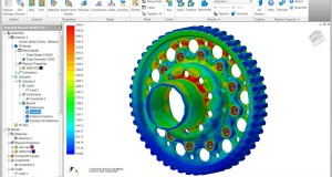 The new Nastran In-CAD works within both Autodesk Inventor and SolidWorks.