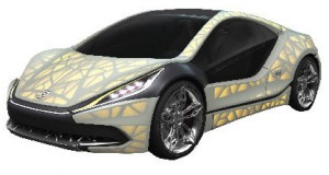 EDAG 3D Printed Concept Vehicle