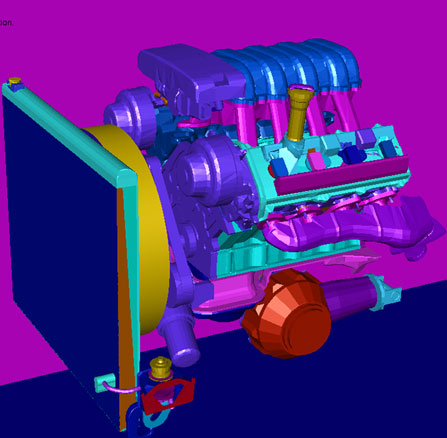 Meshing Large and Complex Geometries with ANSYS Fluent