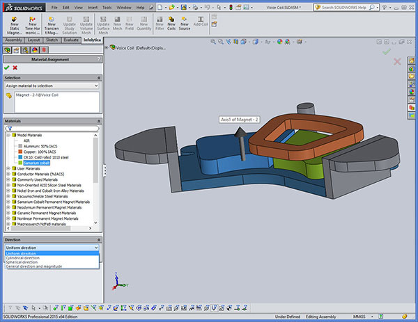 Infolytica MagNet for SolidWorks
