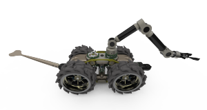 The Armourdillo modular robot from Robosynthesis Ltd. was completely designed in Solid Edge.