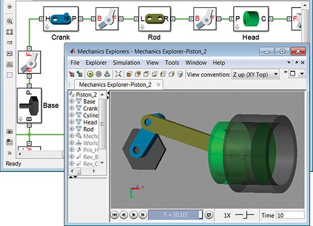 MathWorks Simscape