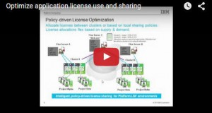 Watch this presentation to see how IBM Platform products can help dynamically manage software license resources ensuring that licenses are optimally utilized, leading to improved productivity and the containment of costs.