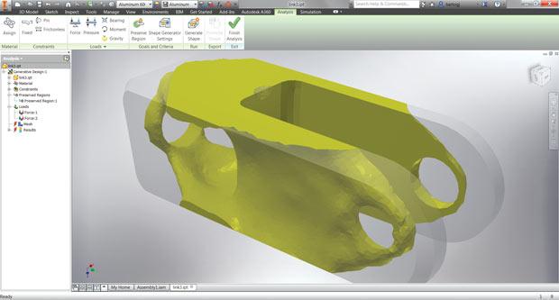 Autodesk Inventor Shape Generator