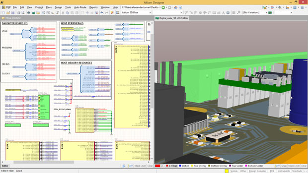 Altium 3D PCB Design Tool Sees Major Update