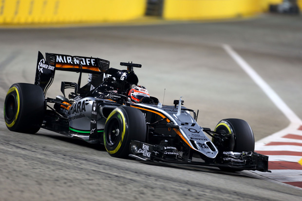 Remote CAD access is applicable to a variety of industries. The race car shown here, designed by the Sahara Force India team, was engineered with Ericom Connect. Image courtesy of Ericom.