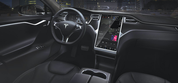 The interface is just one part of human-robot interaction. Pictured here is the design for the Tesla S. Image courtesy of Tesla.