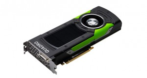 "NVIDIA says it designed its new Quadro P6000 GPU ""to power the most advanced workstations ever built."" Image courtesy of NVIDIA Corp."