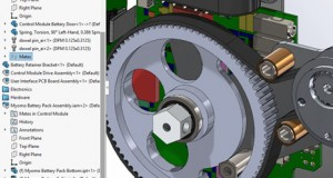 3D Interconnect lets users import third-party CAD files and have native modeling capabilities. Image courtesy of SOLIDWORKS.