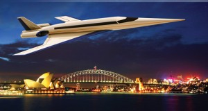 A rendering of the Spike S-512 supersonic business jet. Image courtesy of Spike Aerospace.