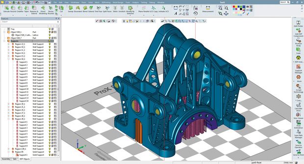 3DXpert provides an all-in-one toolset for metal 3D printing and production. Image courtesy of 3D Systems.