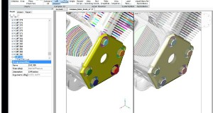 The new 3D Compare feature in BricsCAD compares 3D solids and surfaces, including imported geometry. Image courtesy of Bricsys.