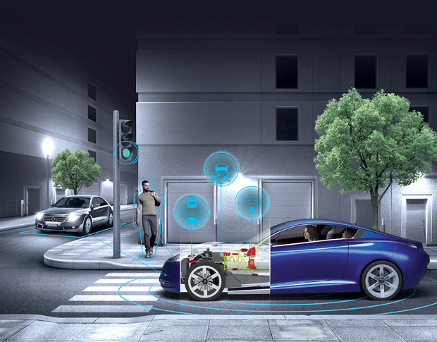 Dassault Systèmes software products such as CATIA, SIMULIA and Dymola (from solution-partner Modelon) support multiphysics, multi-discipline and control-system design and simulation for the automotive industry and other industries. Image courtesy of Dassault Systèmes.