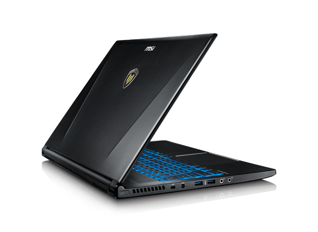 MSI's workstation laptops come packed with features that provide an experience unlike any other. Image courtesy of MSI Computer.
