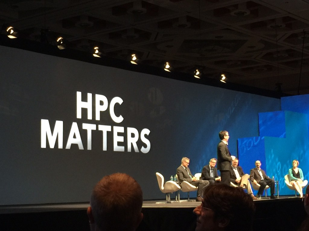 Panelists from the SC16 plenary session discussed how supercomputing is being used to advance precision medicine, allowing for individually customized treatment options.