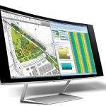 HP Z34c Curved Display