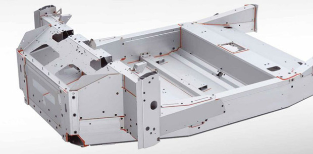 Built in lightweight performance for Chassis aluminium