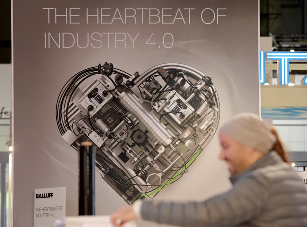 The Germany-based technology fair Hannover Messe is credited with being the birthplace of many of the underlying principles for Industry 4.0, and the term itself. Image courtesy of Hannover Messe.