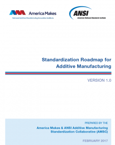 ANSI America Makes Additive Manufacturing Roadmap
