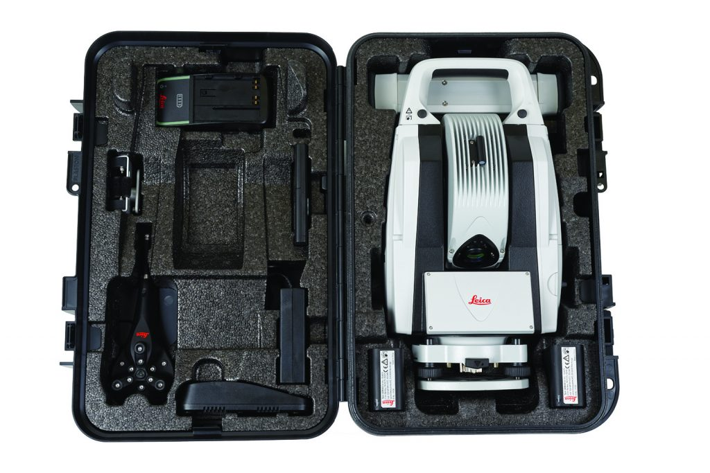 the Leica Absolute Tracker AT403 is able to provide CMM capabilities in a wide range of challenging measurement environments
