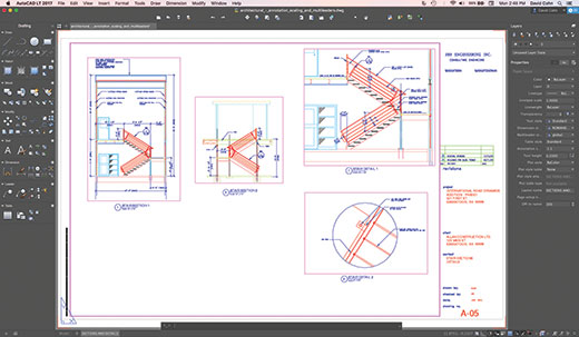 autocad lt 2017 for mac offers the same new interface as autocad 2017 for mac