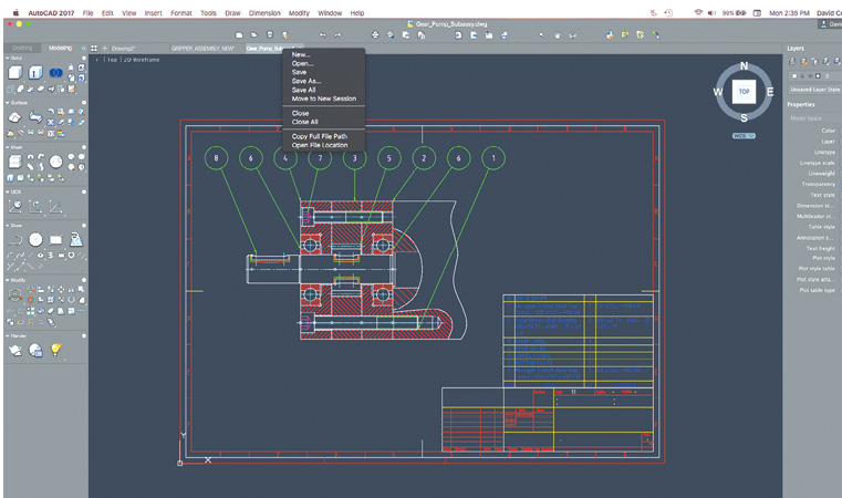 Superb AutoCAD 2017 For The Mac Features A More Organized Interface, With A  Toolbar Across The
