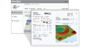 The latest release of COMSOL App Server tools for custom visuals so the app creator can brand the app with its own graphics. Image courtesy of COMSOL.