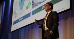 Dr. Jan Leuridan explains the Simcenter roadmap and the importance of the STAR-CCM+ portfolio in it. (Source: Siemens)