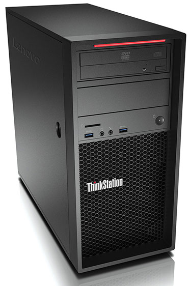 The new Lenovo ThinkStation P410 delivers mainstream workstation performance at new affordable price points. Image courtesy of Lenovo.