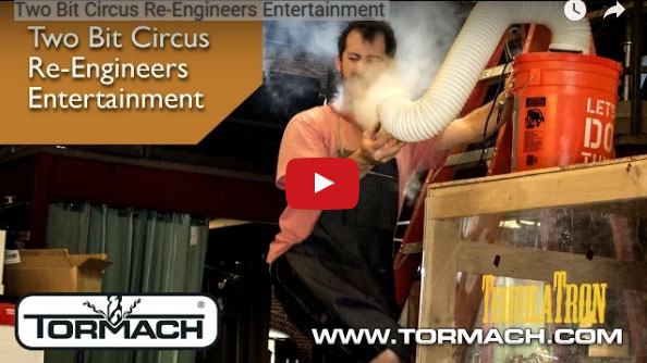 """Tech and Spectacle Intersect at Two Bit Circus"" shows how some engineers put a Tormach mill to good use and have a ton of fun at work. Image courtesy of Tormach Inc."