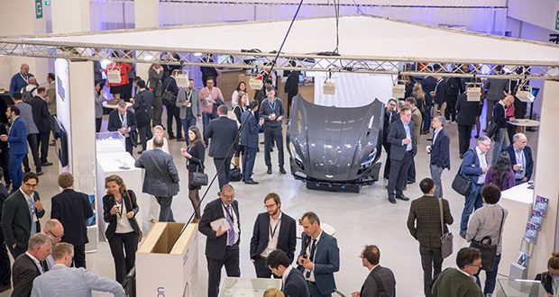 There were long breaks between presentation sessions at Materialise World Summit, providing extended opportunities for networking. Image courtesy of Materialise.