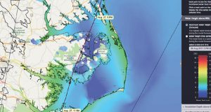 RENCI's Hatteras HPC cluster depends on Dell technologies for high-resolution storm surge and hurricane wind wave predictions. Image: RENCI
