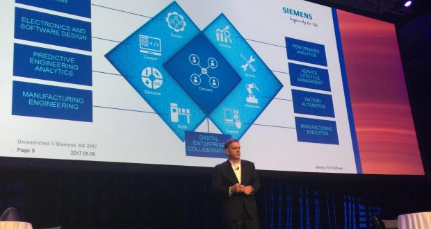 Tony Hemmelgarn, president and CEO of Siemens PLM Software