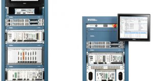 NI's new ATE Core Configurations deliver the mechanical, power and safety infrastructure to help test organizations in various industries accelerate the design and deployment of test systems. Available on 24U and 40U rack-based configurations, these customizable units support hundreds of instrumentation types and global power environments. Image courtesy of National Instruments.